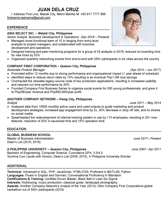 ATS resume