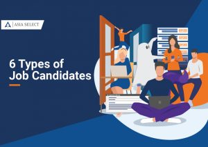 six types of job candidates