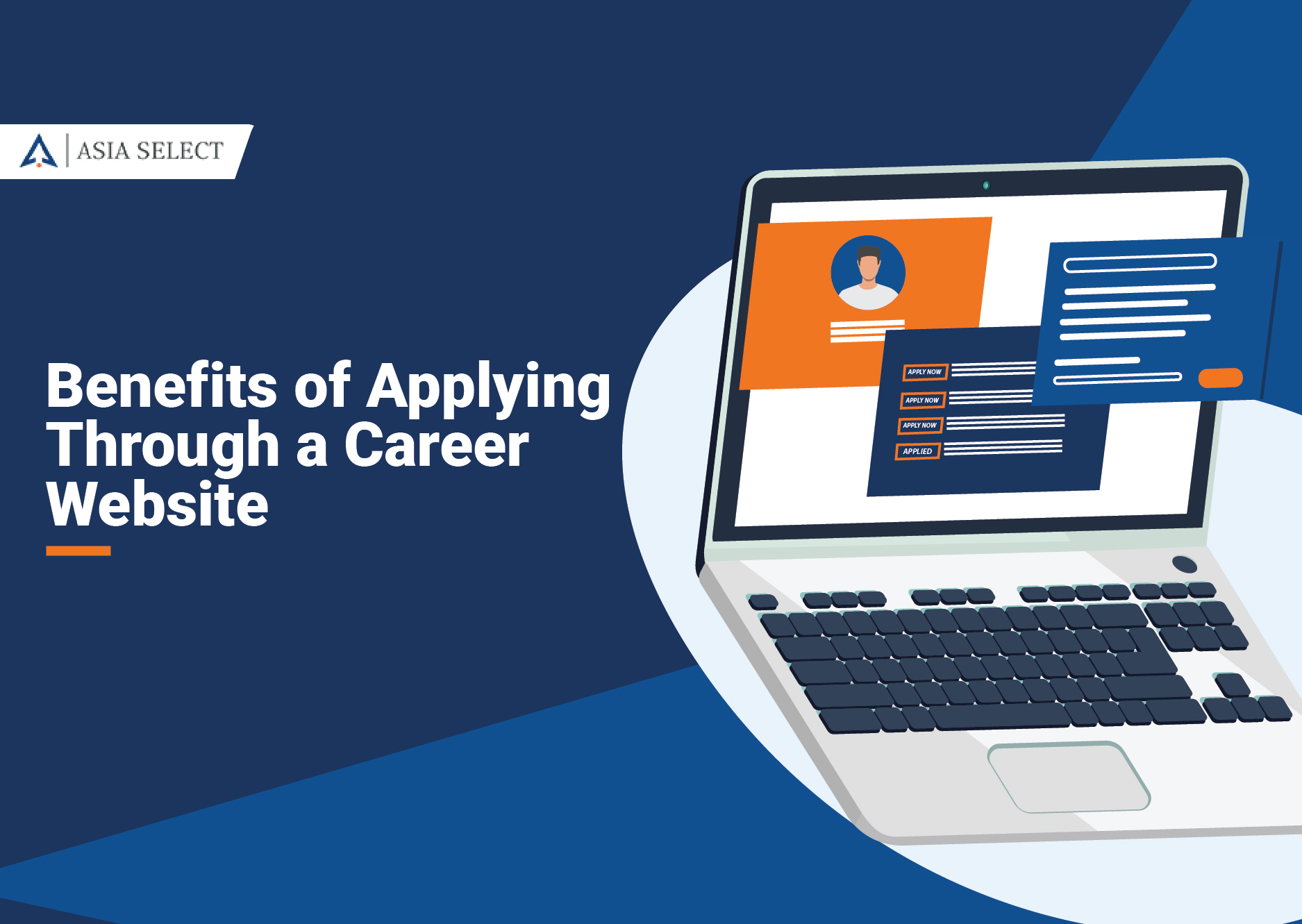 Untold benefits of applying through a career website