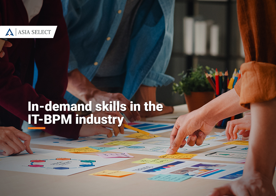 In-demand skills in the IT-BPM industry